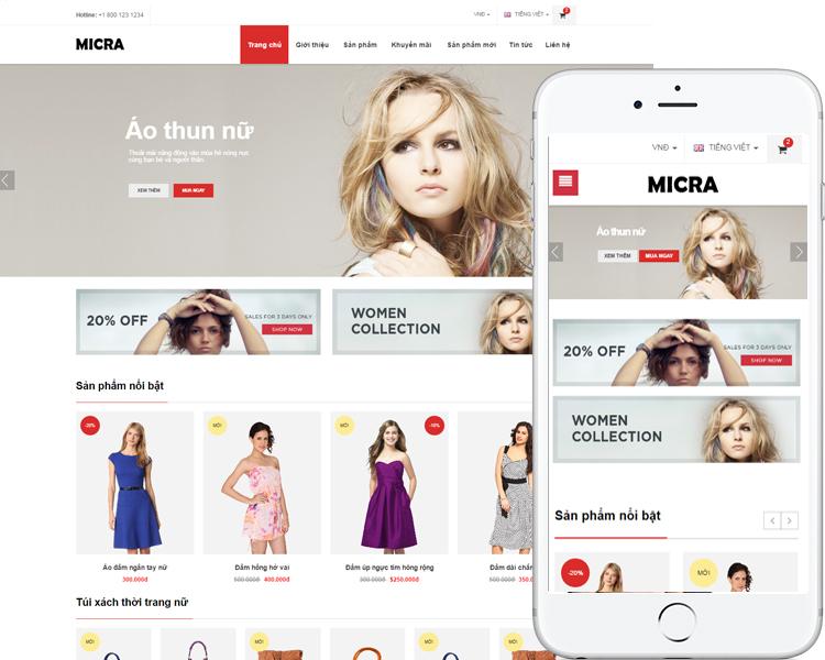 Cửa hàng thời trang Micra