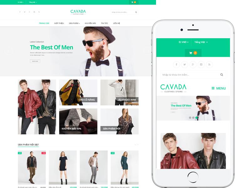 Cửa hàng thời trang Cavada
