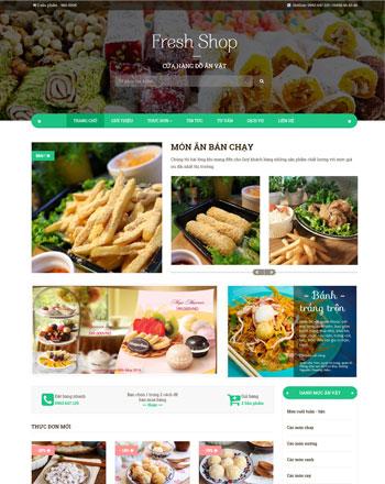 Cửa hàng đồ ăn vặt FreshFood