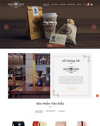 Cửa hàng Coffee Modern